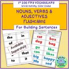 1st 200 Fry Words Activity Nouns Verbs & Adjectives Cards