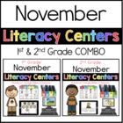 1st 2nd COMBO November Literacy Centers