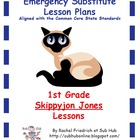 1st Grade CCSS Emergency Sub Plans