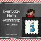 1st Grade Everyday Math Workshop Plans for Unit 3