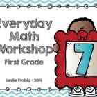 1st Grade Everyday Math Workshop Plans for Unit 7