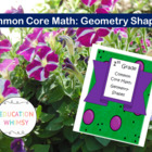 1st Grade Math Common Core Geometry: Shapes