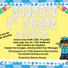 1st Grade Math Print and GO (SAMPLE) for ALL standards