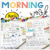 1st Grade Math and Literacy Common Core Morning Work 8th M
