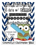 1st Grade Measurement and Data Interactive Student Noteboo