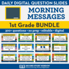 1st Grade Morning Messages (Common Core Aligned)