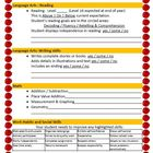1st Grade Parent Teacher Conference Agenda - Spring (Custo