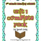1st Grade Reading Street - Unit 1 Complete Pack