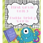 1st Grade Reading Unit 3 Charts and Lessons