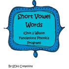 1st Grade Short Vowel Word Work (Unit 2 Wilson Fundations)