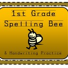 1st Grade Spelling Word Handwriting Practice