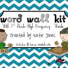 1st Grade Word Wall Kit