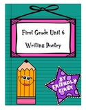1st Grade Writing Unit 6 Charts and Lessons