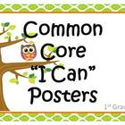 1st Grd CC Standards Posters (OWLS Design)