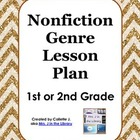 1st or 2nd Grade Nonfiction Genre Study Lesson Plan