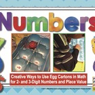 2-Digit and 3-Digit Numbers {Egg Carton Math Center}