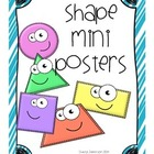 2-Dimensional Shape Mini Posters