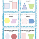 2 Dimensional Shape Task Cards