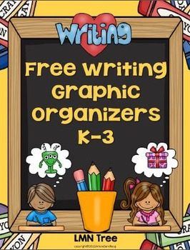 Writing Graphic Organizers Grades K-3