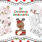 24 Christmas Bookmarks