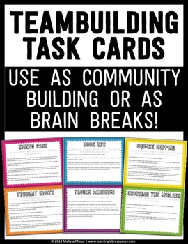 20 Classroom Teambuilding Activities and Brain Breaks - Ta