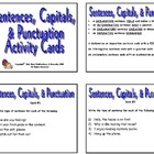 20 SENTENCES, CAPITALS, & PUNCTUATION PRINTABLE ACTIVITY T