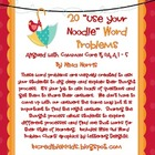 """Use Your Noodle"" Word Problem Bundle"