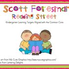 2011 Kindergarten Reading Street Unit 1 Target Skills