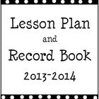 2013-2014 Polka Dot Planner and Record Book