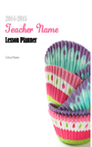 2014-2015 Cupcake Teacher Lesson Planner