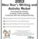 2013 New Year's Book and Classroom Activities