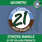 21st Century Geometry Project Bundle -- Common Core Aligned
