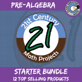 21st Century Pre-Algebra Project Starter Bundle -- Common