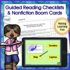 23 Guided Reading Checklists (8 Most Important Things at E