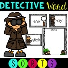 23 Word Families Word Sorts for Literacy Centers ~ Detecti