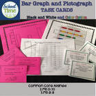 24 Bar Graph and Pictograph Task Cards