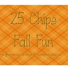 25 Chips Fall Fun Math Game