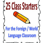 25 Warm-Up and Starter Activities for Foreign Language Class