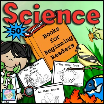 30 Science Books for Beginning Readers