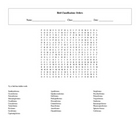 28 Orders Bird Taxonomy Classification Word Search with Key