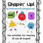 2D & 3D Shapes: Shapin' Up