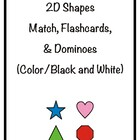 2D Shapes Games and Flashcards eBook
