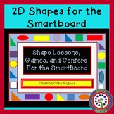 2D Shapes Games, and  Math Centers for the SmartBoard Alig