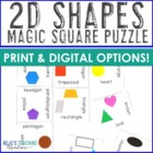 2D Shapes Magic Square