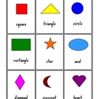 2D and 3D Shapes -small cards and posters - 24 pages