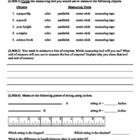 (2.MD.1 & 2.MD.4) Measure Length -2nd Grade Math Worksheet