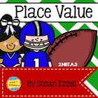 2.NBT.A.3 - Quarterback Place Value Sneak & Mystery Cheer