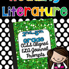 2nd-4th Grade Reading Journal Prompts {Literature - CCSS}