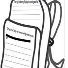 2nd Grade Back to School Backpack Template