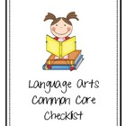 2nd Grade Common Core Checklist